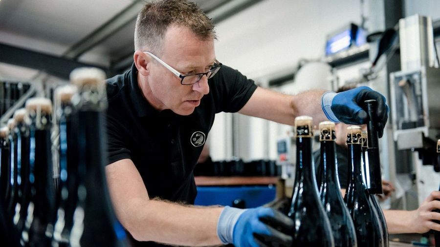 Gusbourne Bottling